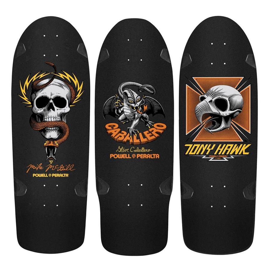 Skateboard art by Powell Peralta