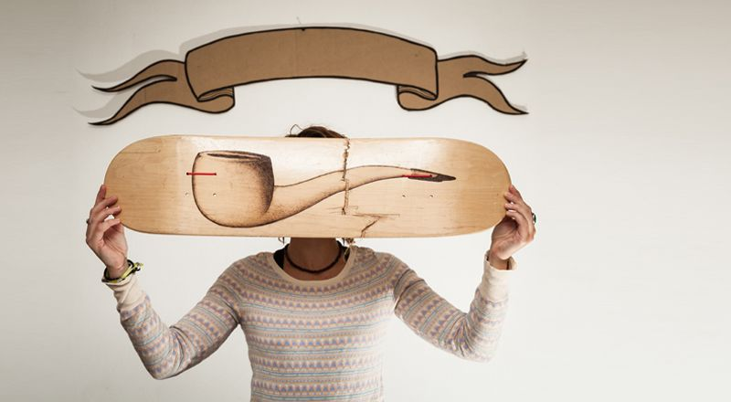 Chantal Tanchal skateboards