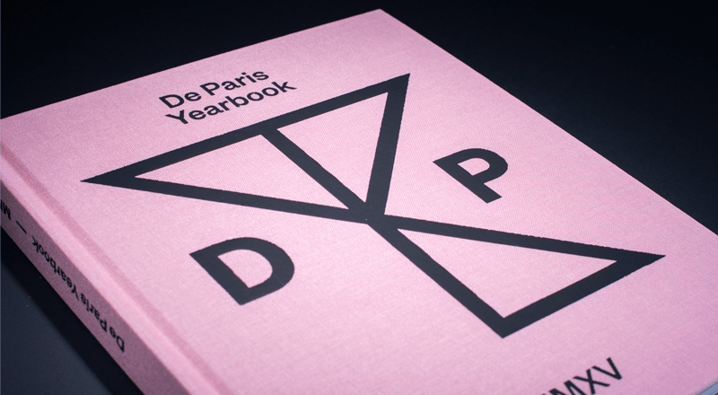 De Paris Yearbook cover