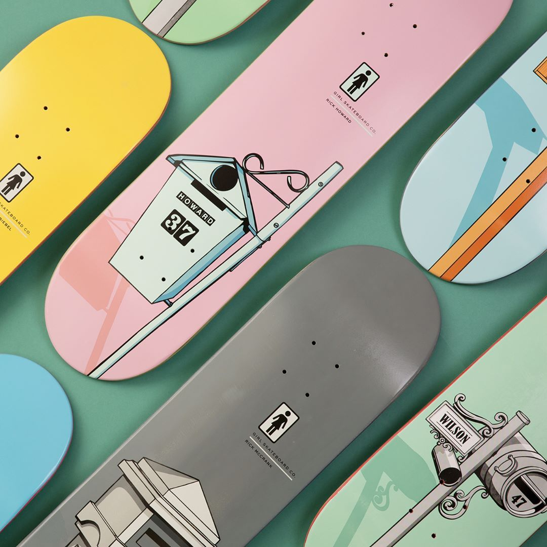 Letterbox series by Girl Skateboards