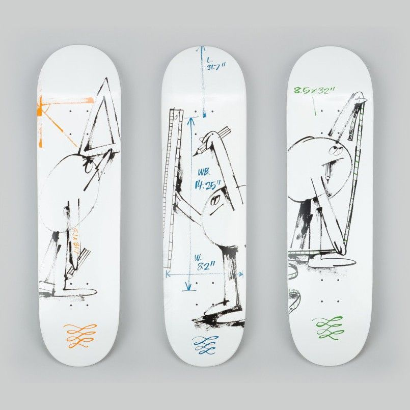 James Jarvis skate art
