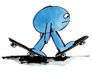 James Jarvis skateboard