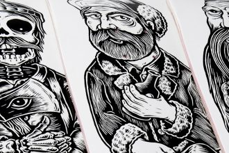 The family series by Chad Eaton x Element Skateboards