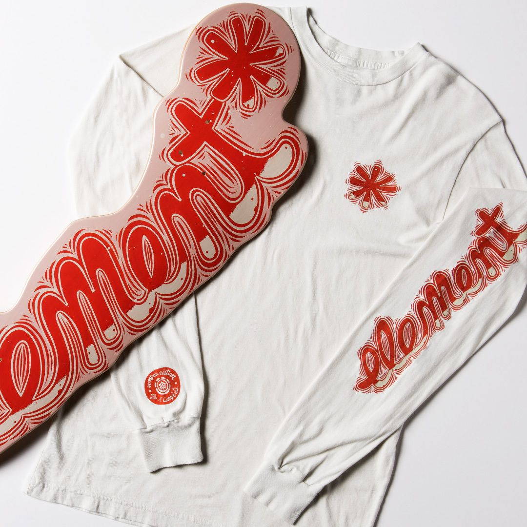 Wompus series by Thomas Campbell x Element Skateboards