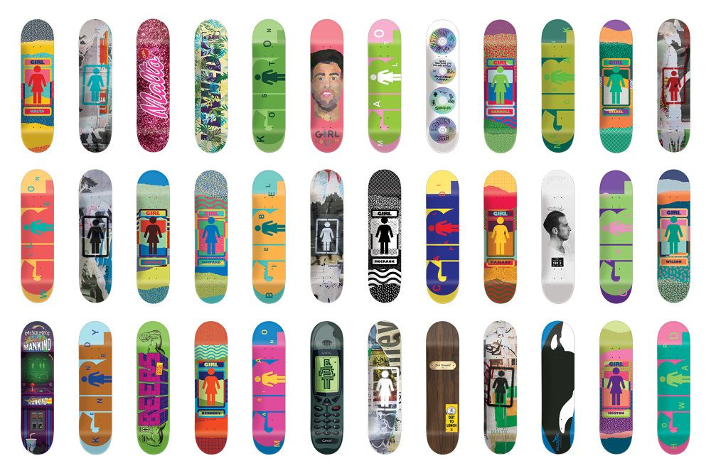Nick Zegel x Girl Skateboards