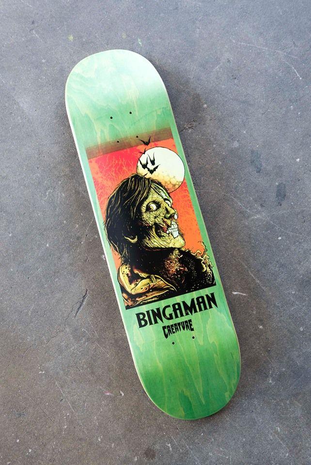 Florian Bertmer x Creature Skateboards