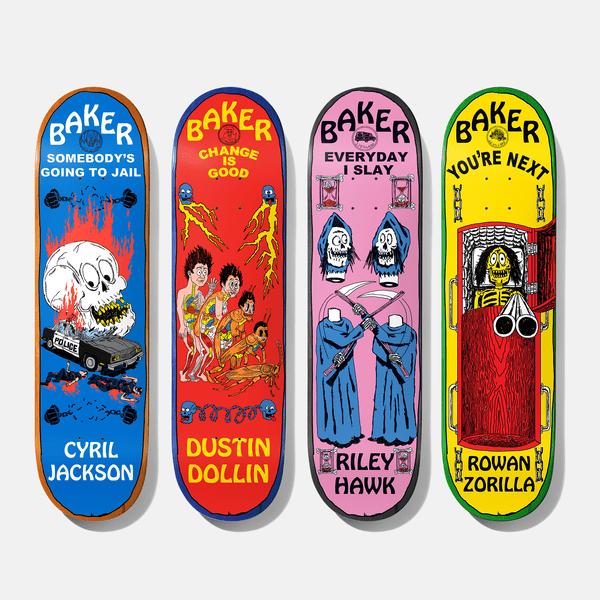 J.J. Villard series x Baker Skateboards